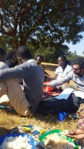 Meal Time for Field Researchers and Enumerators